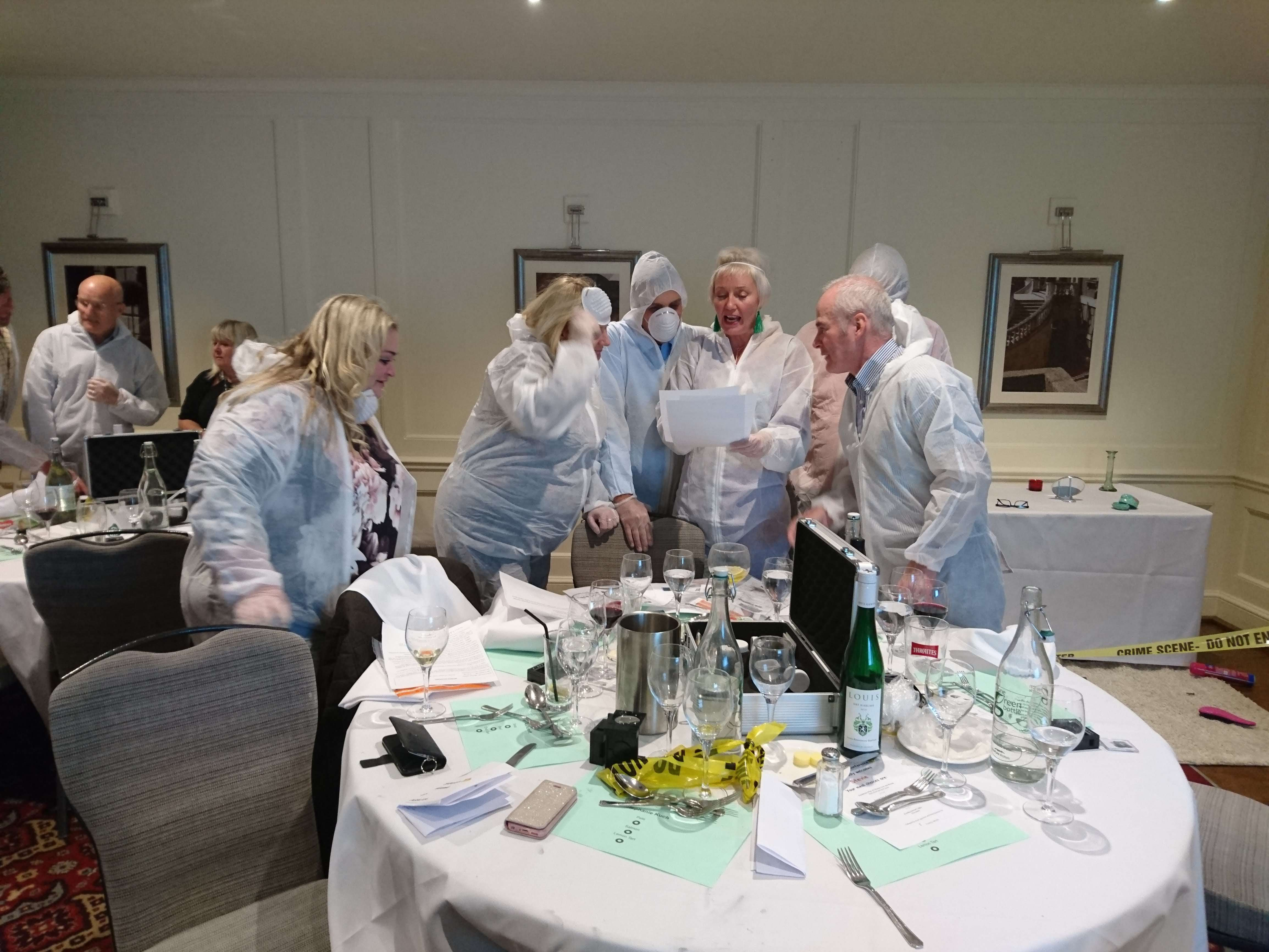Forensic Minds | CSI Events | Teambuilding Events | Norwich, Norfolk, UK